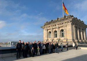 CDU Winterberg auf dem Dach des Reichstagsgebäudes